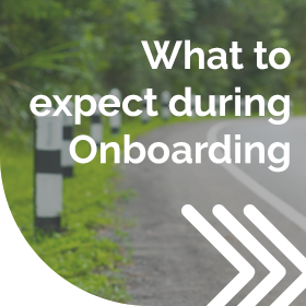 What to expect during Onboarding - Client Zone